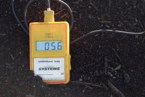 Kompost med lagom temperatur