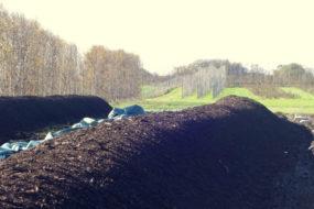 Kompostlimporna sträcker ut sig över nejden.
