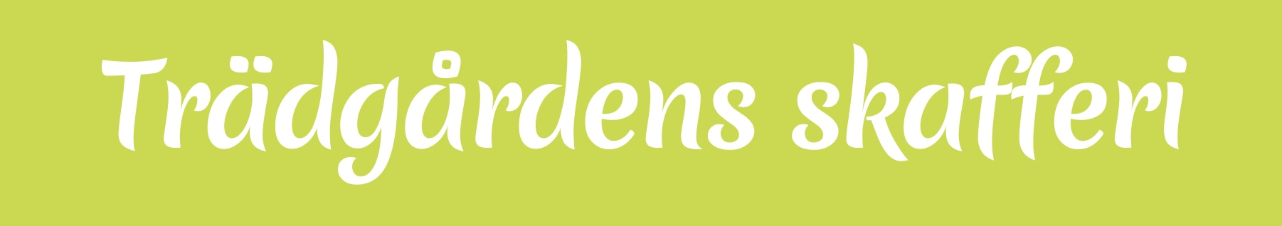Trädgårdens skafferi logo
