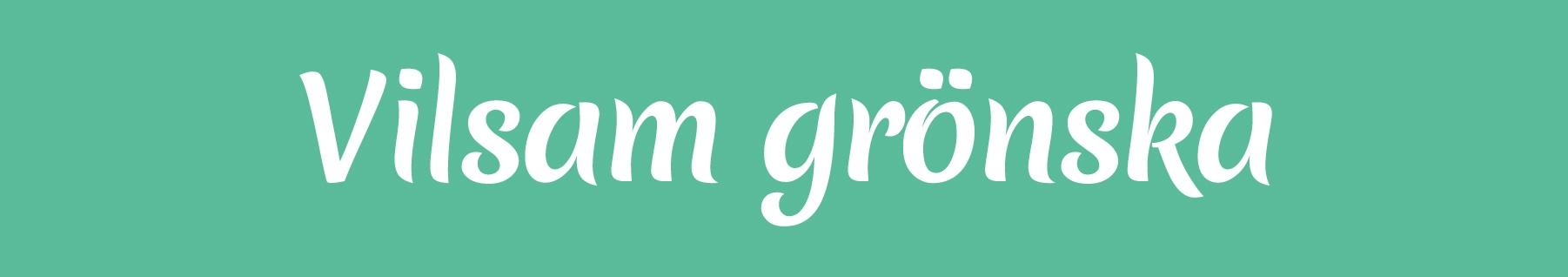 Vilsam grönska logo